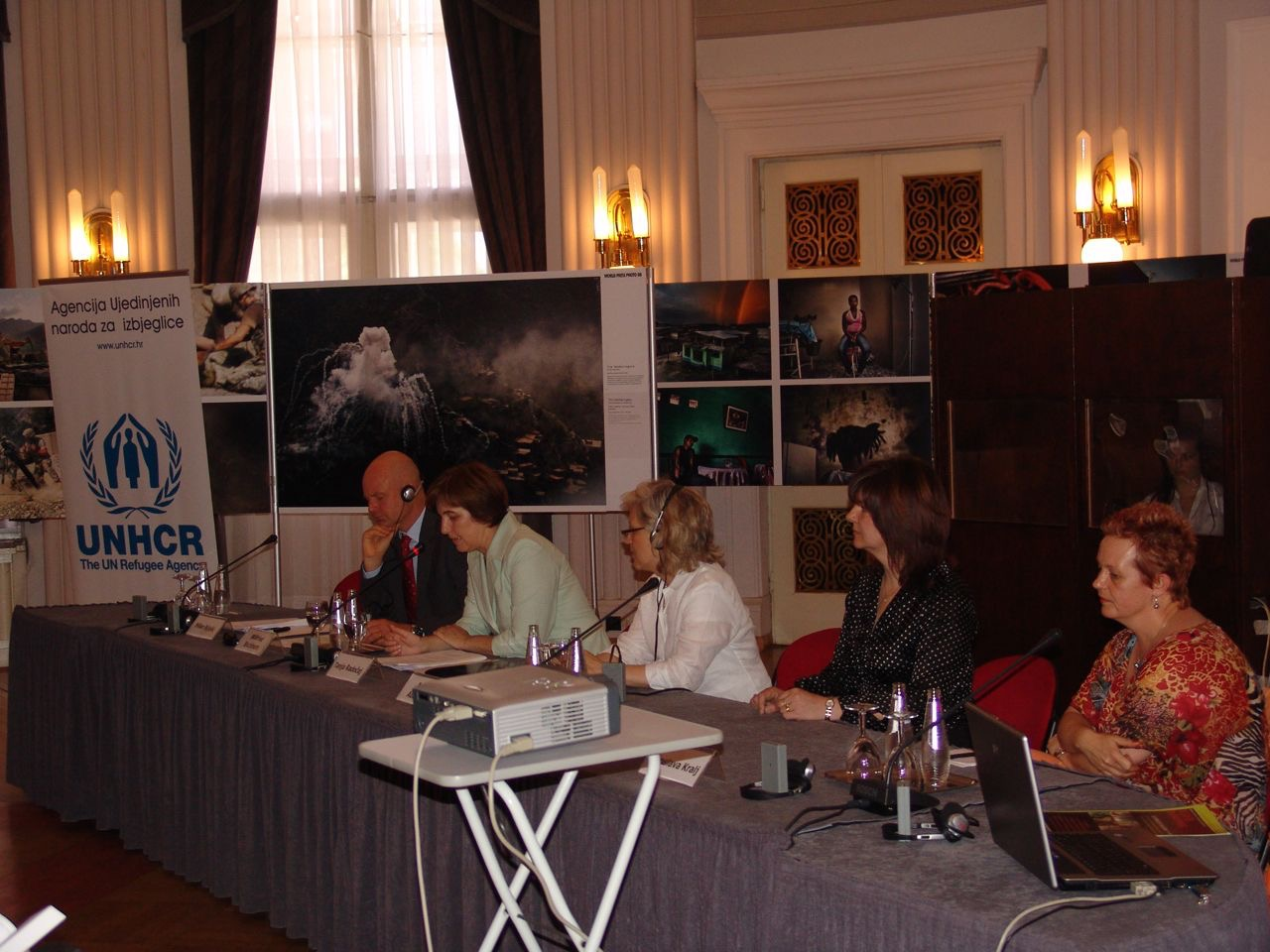 UNHCR-Panel for Croatian launch of 'The War Hotel'